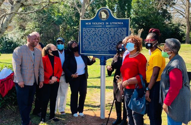 Lithonia, NAACP honor lynching victims with memorial